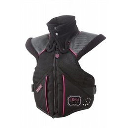 Black, Pink Divas Womens Super Sport Tek-vest Protection Vest Black Pink