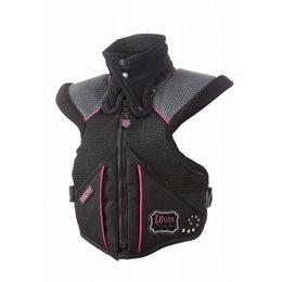 Black, Pink Divas Womens Super Sport Tek-vest Protection Vest Black Pink