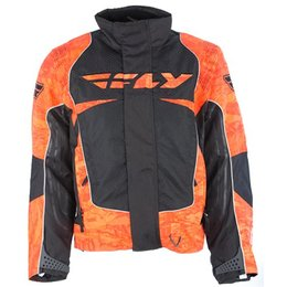 Fly Racing Mens SNX Wild Snocross Jacket Orange