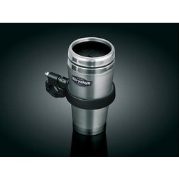 Black Kuryakyn Snap-n-go Drink Holder With Mug Universal
