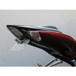 Black Targa Tail Kit Without Signals For Suzuki Gsxr 600 750 08-09