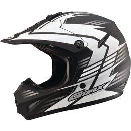 GMAX GM46.2X Race Offroad Motocross Helmet Black