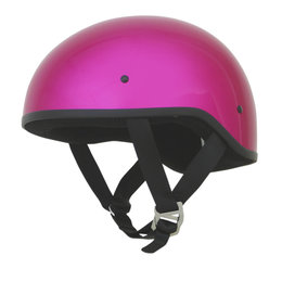 AFX Womens FX-200 FX200 Naked Slick Half Helmet With Dual Built-In Shields Pink