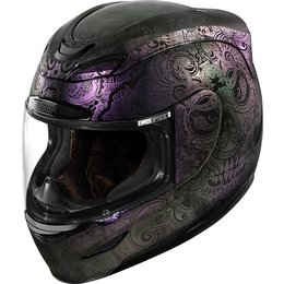 Icon Airmada Chantilly Opal Full Face Helmet Purple