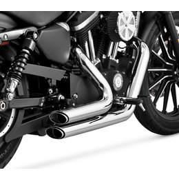 Vance & Hines Shortshots Staggered Dual Exhaust For Harley Sportster 17229