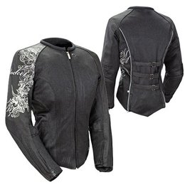 Black Joe Rocket Womens Cleo 2.2 Textile Jacket