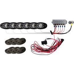 RIGID ATV Lower LED Grill For Polaris RZR 40574 Unpainted