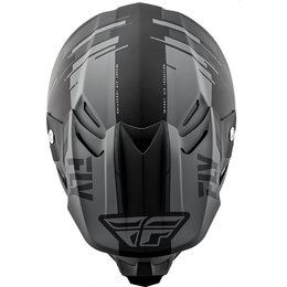 Fly Racing F2 Carbon Forge MIPS Helmet Grey