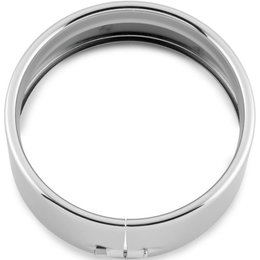 Biker's Choice 1.8 Inch Headlight Trim Ring Chrome 38-351 Unpainted