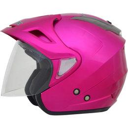 AFX Womens FX-50 FX50 Solid Open Face Helmet Pink