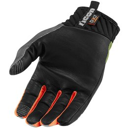 Icon Mens Anthem Deployed Touchscreen Capable Mesh Riding Gloves Green