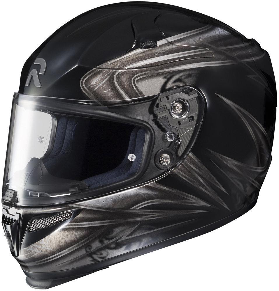 hjc rpha 10 evoke full face helmet 139071. Black Bedroom Furniture Sets. Home Design Ideas