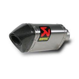 Stainless Steel Midpipe, Titanium Muffler, Carbon Fiber End Cap Akrapovic Slip-on Muffler Hexagonal Ss Ti Cf For Ducati Multistrada 1200 S