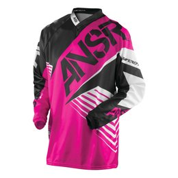 Answer Youth Girls Syncron WMX Riding Jersey Pink