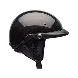 Bell Powersports Pit Boss Black Ops DOT Approved Half Helmet Black