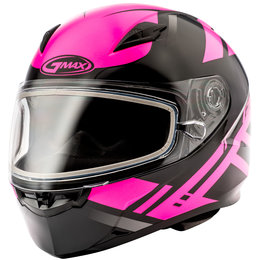 GMAX Womens FF49 FF-49 Berg Snowmobile Helmet With Dual Pane Shield Black