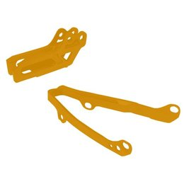 UFO Chain Guide/Slider Kit Orange KTM EXC SX SXF 97-07