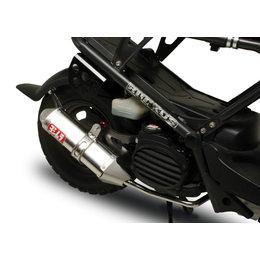 Stainless Steel Sleeve Muffler & Tip Yoshimura Exhaust Trc Full System Stainless For Honda Ruckus 03-09