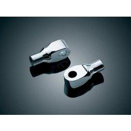 Kuryakyn Footpeg Adapter Front Chrome For Suzuki 800 1400