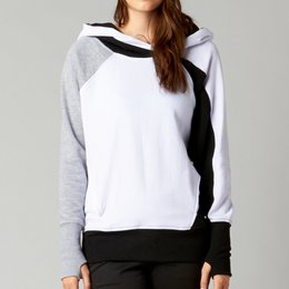 White Fox Racing Womens Spiral Pullover Hoody 2014