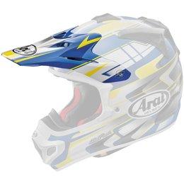 Blue, Yellow Arai Replacement Visor For Vx-pro4 Tip Helmet Blue Yellow
