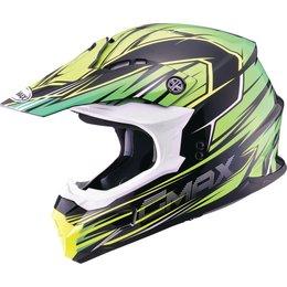 GMAX MX-86 Raz Motocross MX Helmet Black