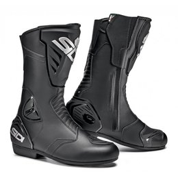Sidi Mens Black Rain Riding Boots Black