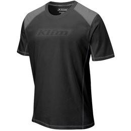 Klim Mens Advance Performance Polyester Blend T-Shirt Black