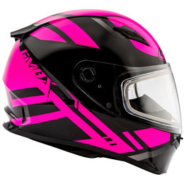 GMAX Womens FF49 FF-49 Berg Snowmobile Helmet With Dual Pane Shield Black