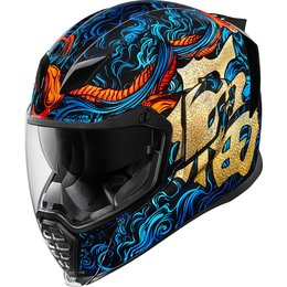 Icon Airflite Good Fortune Full Face Helmet Blue