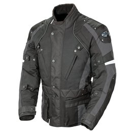 Black, Grey Joe Rocket Mens Ballistic Revolution Wp Textile Jacket 2014 Black Grey