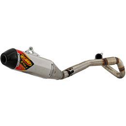 FMF Factory 4.1 RCT Full Exhaust Honda CRF450R SS Aluminum Carbon Fiber 041540 Unpainted