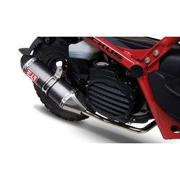 Carbon Fiber Muffler & Carbon Fiber Tip Yoshimura Exhaust Trc Full System Stainless Carbon Fiber For Honda Ruckus 03-09