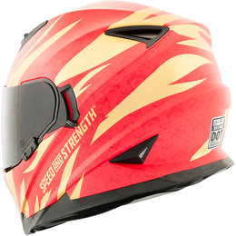Speed & Strength Womens Cat Outa Hell SS1600 Full Face Helmet Gold