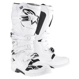 White Alpinestars Mens Tech 7 Enduro Boots 2014 Us 7