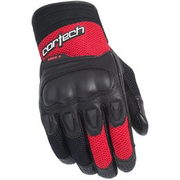 Cortech Mens Leather HDX 3 Gloves Black