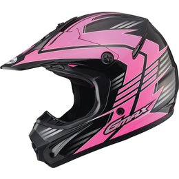 GMAX Womens GM46.2X Race Offroad Motocross Helmet Black