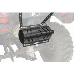 Black Kolpin Outdoors Stealth Exhaust System 2.0 With Heat Shield Atv