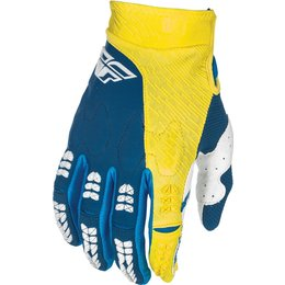Fly Racing Mens Evolution 2.0 Race Gloves Blue