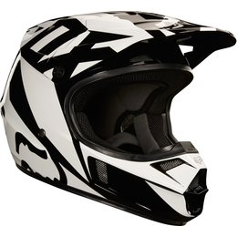 Fox Racing Youth V1 Race MX Helmet CLOSEOUT Black