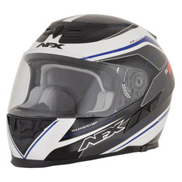 AFX FX-105 FX105 Thunderchief Full Face Helmet Blue