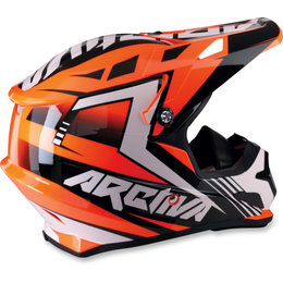 Arctiva Mens Rise DOT ECE Snowmobile Helmet Orange