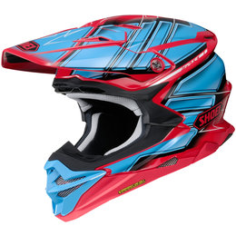 Shoei VFX-EVO Glaive MX Helmet Blue