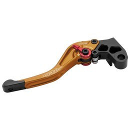 CRG RC2 Shorty Adjustable Clutch Lever For Honda Gold 2AN-651-H-G Gold
