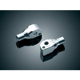 Kuryakyn Footpeg Adapter Rear Chrome For Suzuki Cruisers