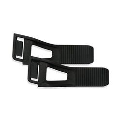 Black Bell Powersports Repl Standard Adjustment Straps For Rogue Helmet 2013 2 Pk Blk
