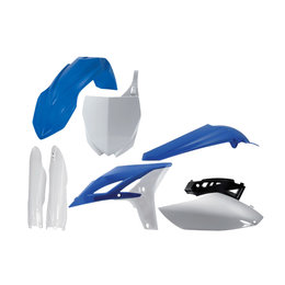 Acerbis Replacement Full Plastic Kit For Yamaha YZ250F Blue White 2198012882 Blue