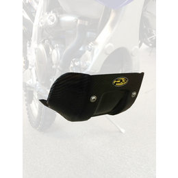 P3 Bi-Color Weave Carbon Fiber Composite Skid Plate For Yamaha Black 307052