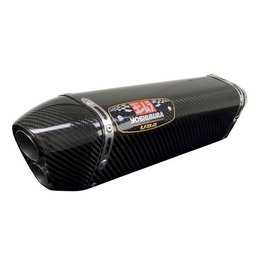Carbon Fiber Look Yoshimura Trc-d Muffler Dual Outlet End Cap Ss Cf Cf Kaw Versys 650 2008-2012