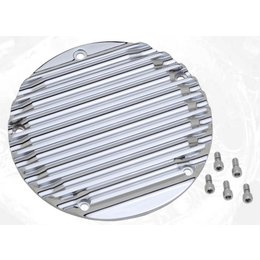 Chrome Covingtons Derby Cover 5 Hole For Harley Twin Cam 99-10